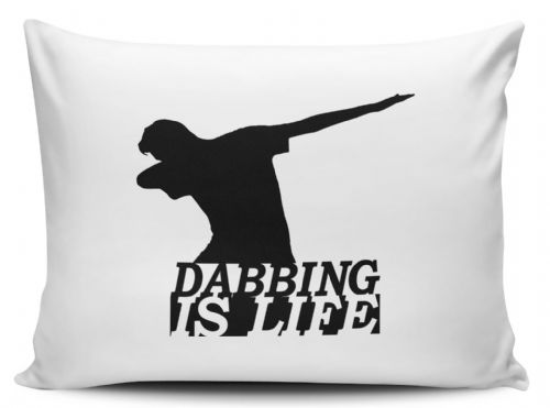 Dabbing Is Life Funny Pillow Case